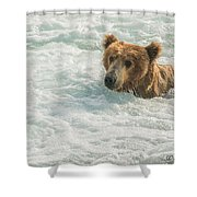 Ahh Whirlpool Time Shower Curtain