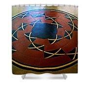 Ahwahnee Hotel Floor Medallion Shower Curtain