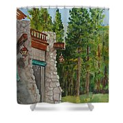 Ahwahnee Woods Shower Curtain