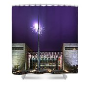 Air And Space Museum Shower Curtain