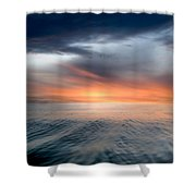 Air And Water No.57 Shower Curtain