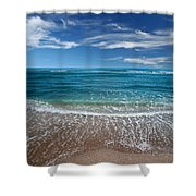 Air And Water No.88 Shower Curtain
