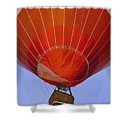 Air Balloon Festival In Igualada Shower Curtain