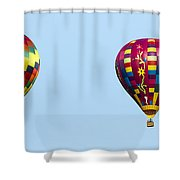 Air Balloons  0208 Shower Curtain