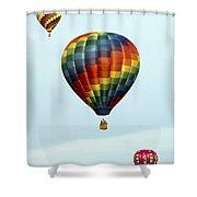 Air Balloons  0251 Shower Curtain