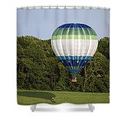 Air Balloons  0458 Shower Curtain