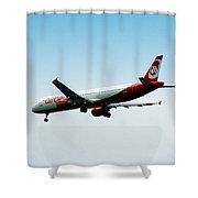 Air Berlin Shower Curtain