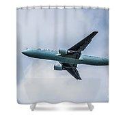 Air Canada Boeing 767 Shower Curtain