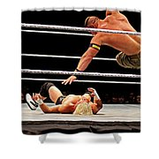 Air Cena Shower Curtain