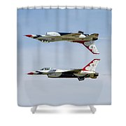 Air Force Thunderbirds Shower Curtain