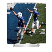 Air Force Touchdown Shower Curtain