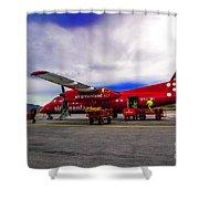 Air Greenland Shower Curtain