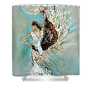 Air Shower Curtain by Karina Llergo