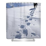 Air Line Trail - White Mountains New Hampshire Shower Curtain