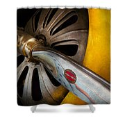 Air - Pilot - Ready For Take Off Shower Curtain by Mike Savad