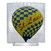 Air St. Louis Shower Curtain