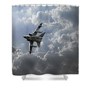 Air Superiority Shower Curtain