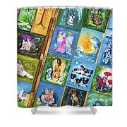 Fantasy On Display Shower Curtain