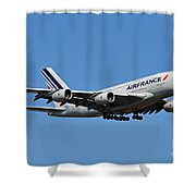 Airbus A80 Shower Curtain