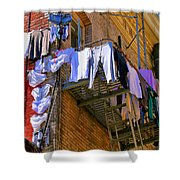 Airing Out The Drawers By Diana Sainz Shower Curtain
