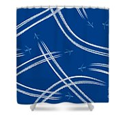 Airliners Gone Wild Shower Curtain