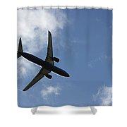 Airplane Iv Shower Curtain