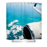 Power And Beauty Shower Curtain