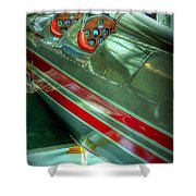 Airplane Vintage Yesterday Shower Curtain