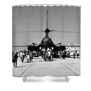 Airshow Shower Curtain