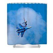 Airshow St Petersburg Russia Part 2 Shower Curtain