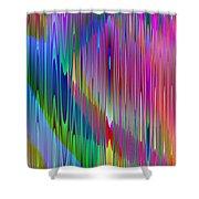 Airwaves Shower Curtain