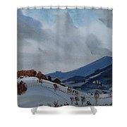 Airyhill Shower Curtain