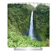Akaka Falls Shower Curtain