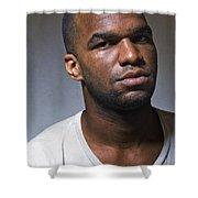 Akinwande Shower Curtain