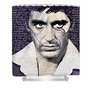 Al Pacino Again Shower Curtain