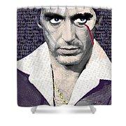 Al Pacino Scarface Shower Curtain