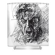 Al Pacino Shower Curtain