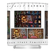 Al Scarface Capone's Cell Shower Curtain