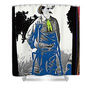 Al Seiber Chief Scout Indian Wars No Date 2013 Shower Curtain