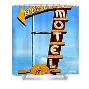 Ala Cozy Motel Shower Curtain
