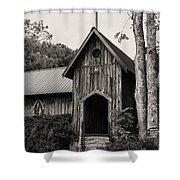 Alabama Country Church 3 Shower Curtain