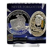 Alabama Highway Patrol Memorial Shower Curtain