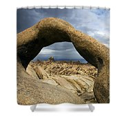 Alabama Hills Arch Shower Curtain