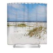 Alabama Point 2 Shower Curtain