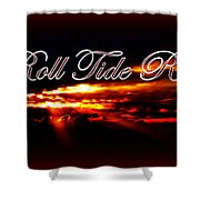 Alabama - Roll Tide Shower Curtain