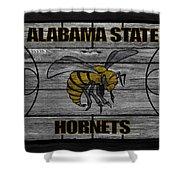 Alabama State Hornets Shower Curtain