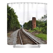 Alabama Tracks Shower Curtain