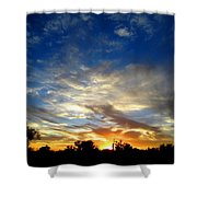 Alabaster Sky Shower Curtain