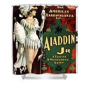 Aladdin Jr Amazon Shower Curtain