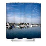 Alamito Bay Marina Shower Curtain